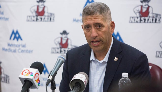 New Mexico State University Director of Athletics Mario Moccia nearly met his ticket revenue projections for fiscal year 2017.