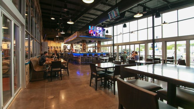 Big Storm Brewing, which has taprooms in Odessa and Clearwater, shown here, is taking over the former Cape Coral Brewing Co. space at 839 Miramar St., Cape Coral.