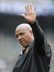 Bengals offensive coordinator and former  Raiders head