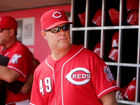 Tate High grad Jay Bell, 49, was released Thursday as Cincinnati Reds bench coach.
