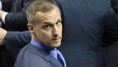 In this April 18, 2016 file photo, Corey Lewandowski,