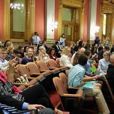The 7th annual Youth Congress at the state Capitol.