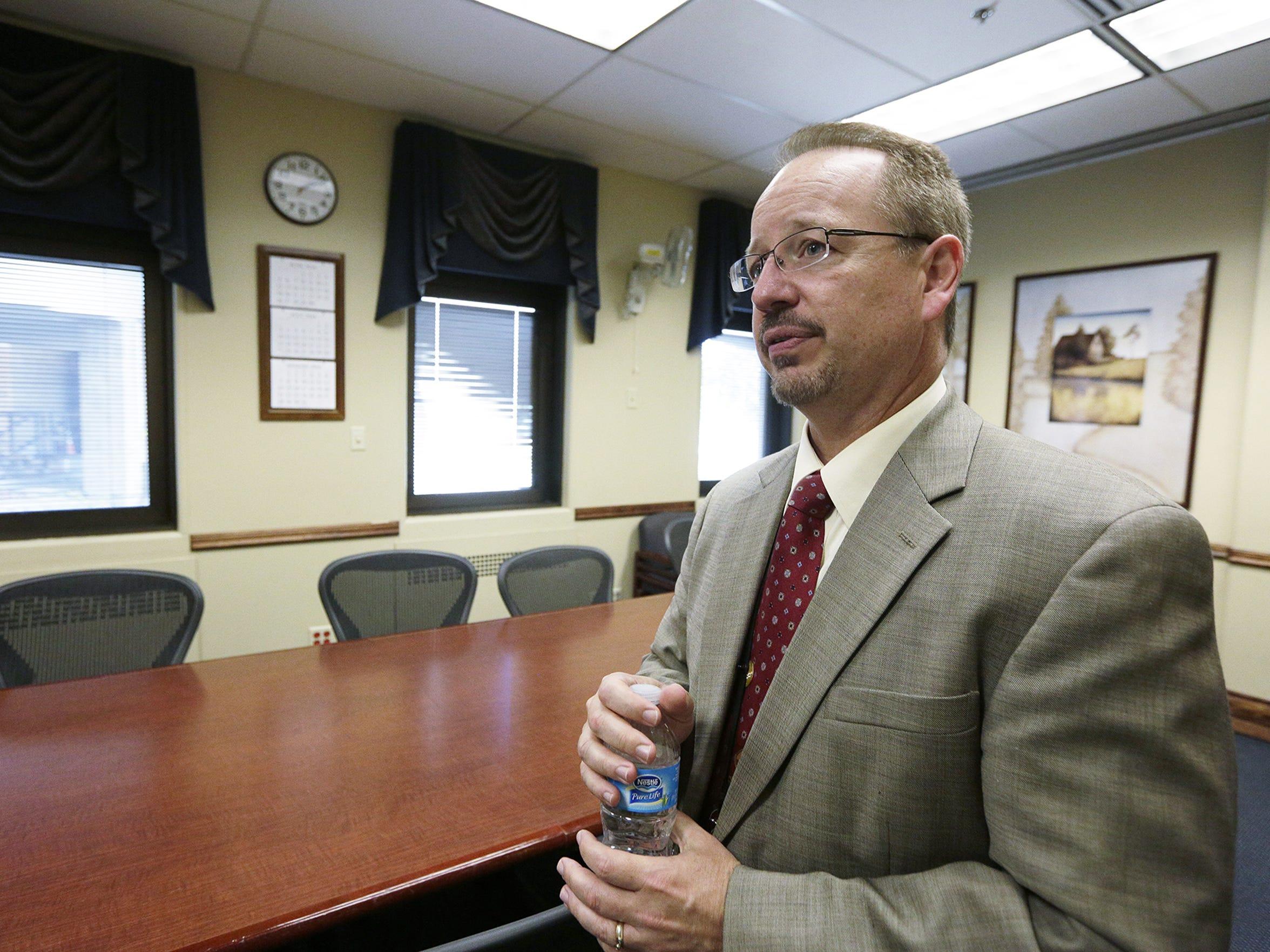 Mann-Grandstaff VA Medical Center Director Ron Johnson