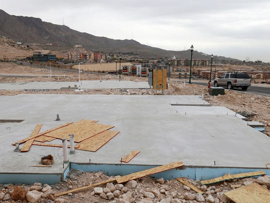 Foundations for other model single-family homes are in place in the Montecillo Smart Growth community in West El Paso. Forty-seven homes, priced from $335,000 to $400,000, are planned for the development, which until now only had apartment buildings and businesses.