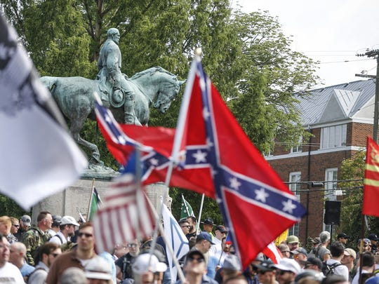 White nationalist groups hold their ground at Emancipation