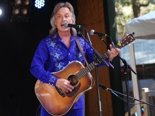 Jim Lauderdale headlines a concert at Railgarten on Saturday night.