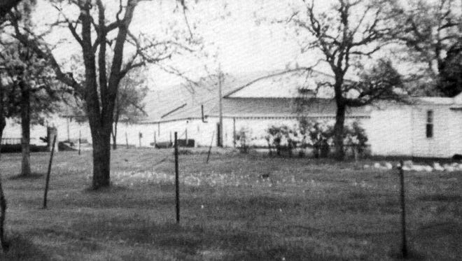 The old Fairgrounds Ballroom was located on the southwest corner of the Benton County Fairgrounds.