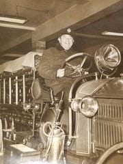 Nutley firefighter Edward Stroba died in the line of duty on Dec. 19, 1942.
