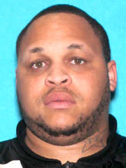 "Darryl Key, ""DB,"" ""Big Baby,"" 27, of Detroit, is wanted by the justice department for alleged gang activity. He was indicted Nov. 1, 2017 and remains missing."