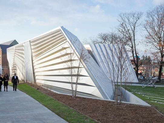 Michigan State University's Eli and Edyth Broad Art Museum in East Lansing.