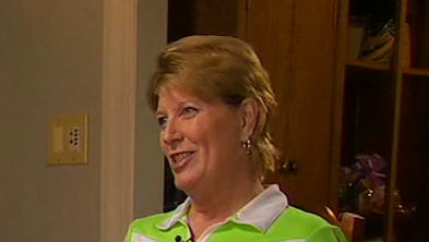 In this frame from video provided by Fox News, Smith Mountain Lake Chamber of Commerce executive director Vicki Gardner, right, who survived an on-air shooting that killed two TV journalists in Virginia, speaks with Fox News' Greta Van Susteren in an interview broadcast Tuesday, Sept. 15, 2015. Vester Flanagan walked up and opened fire, killing WDBJ-TV cameraman Adam Ward and reporter Alison Parker on Aug. 26.