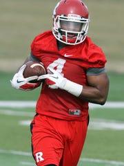 Rutgers University football wide receiver Leonte Carroo