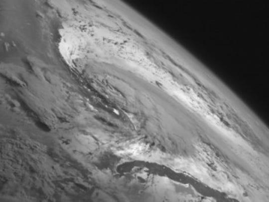 Tropical Storm Arthur on July 2, 2014 (Source: NOAA)