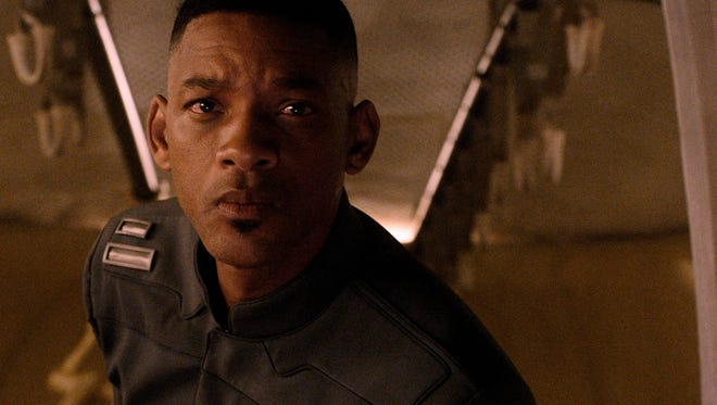 """Will Smith in a scene from the motion picture """"After Earth."""""""