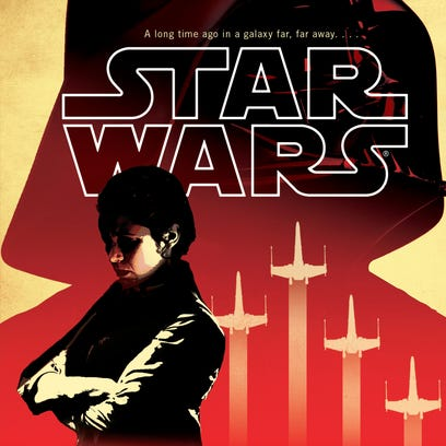 "Cover to the Claudia Gray novel ""Star Wars: Bloodline."""