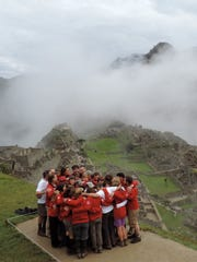 The Above + Beyond cancer group trekked nearly three miles high in Peru.