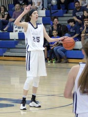 Katelyn Limardo is just a freshman and has already made an impact for the Lady Colts on the court this season.