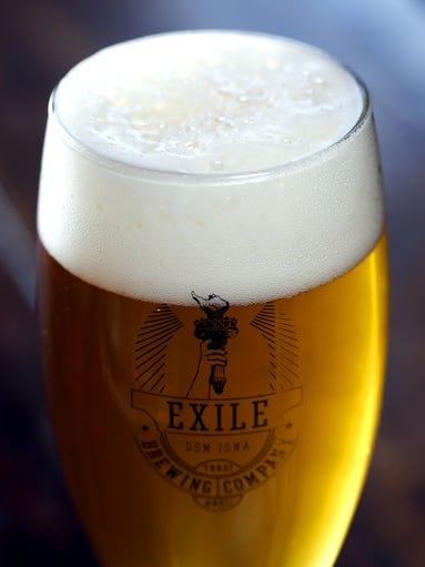 Betty Honey Blonde Lager at Exile Brewing Company in