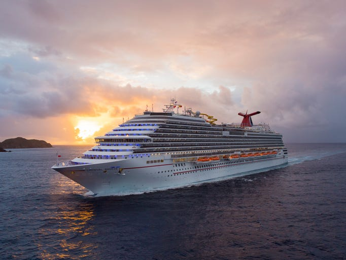 The Carnival Breeze zips throughout the Caribbean from