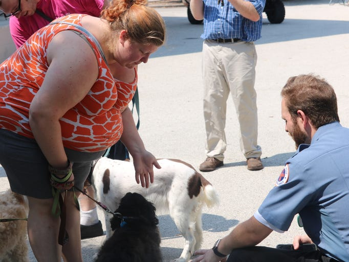 Therapy dogs celebrate Sheboygan Disability Pride Fest