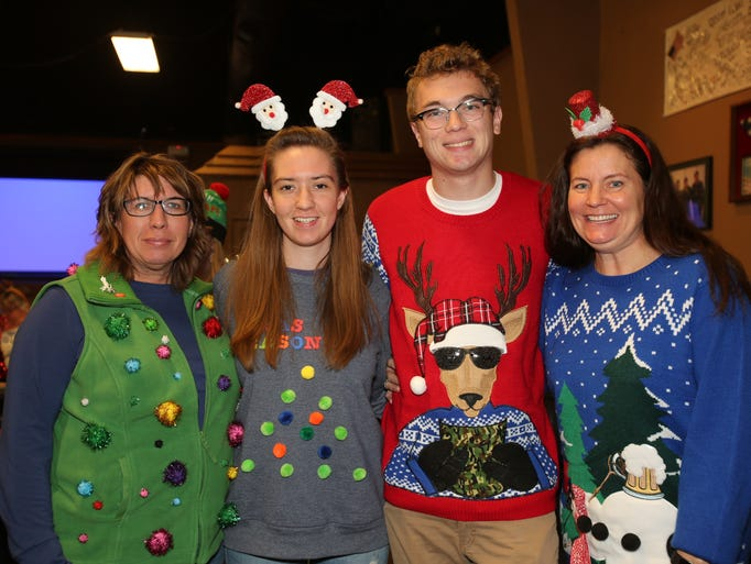 Heather Vanlent, Bailey Wilbur, and Zach and Dawn Cosby