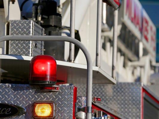 MJS fire truck