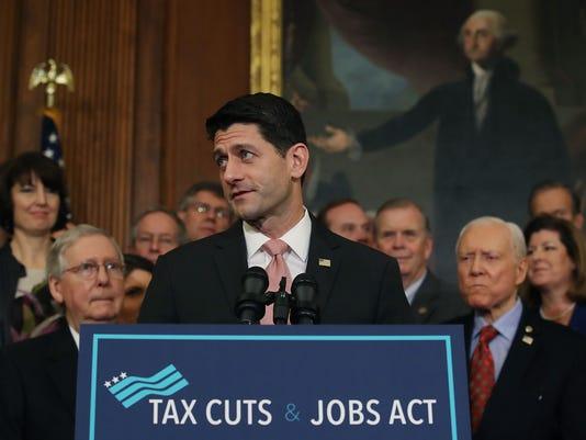 Paul Ryan tax cut tweet