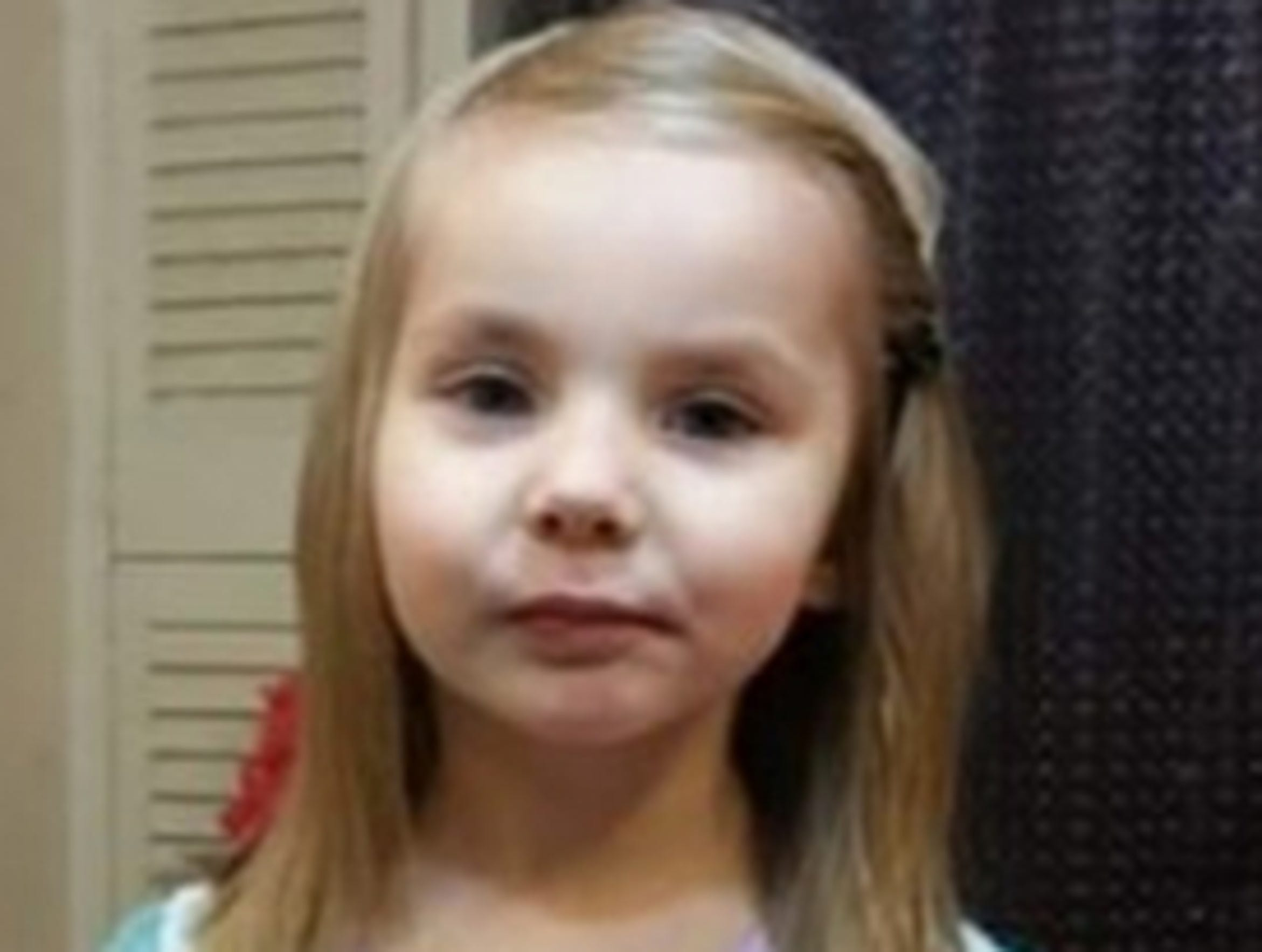 Savannah Walker, 4, and her mother Heidi Walker were