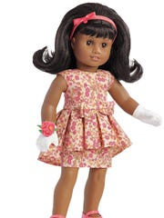 The new doll, Melody Ellison, which is debuting in