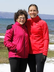 Terri Myers, left, and Amanda Smith-Socaris, pictured