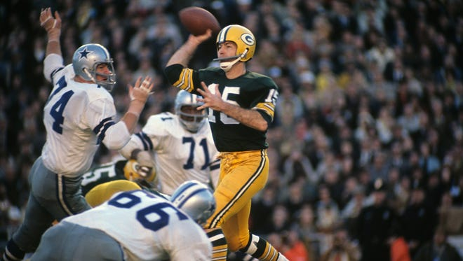 Bart Starr had one of the greatest playoff games ever by a quarterback against the Cowboys in the 1966 NFL championship game.