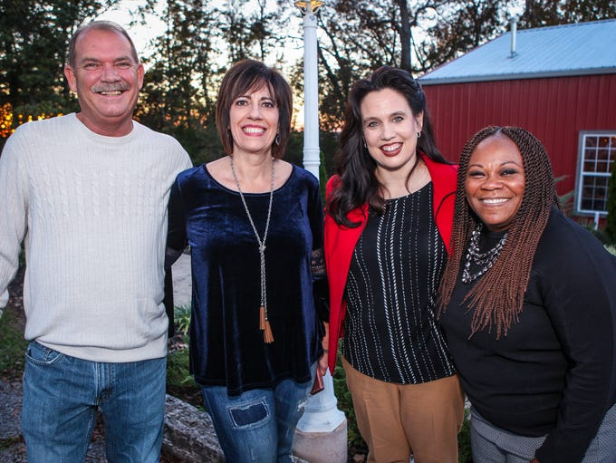 Rick and Pearl Eakins with Beth Reynolds and Veronica