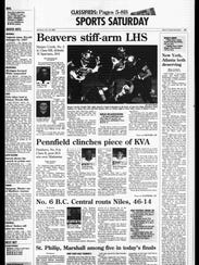 Battle Creek Sports History: Week of Oct. 20, 1996