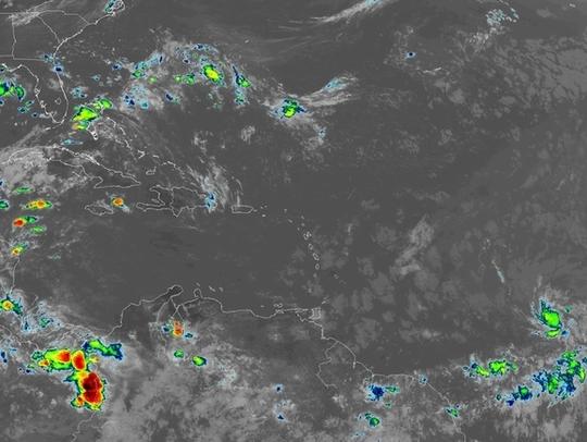 Tropics 10:30 a.m. July 5, 2018.
