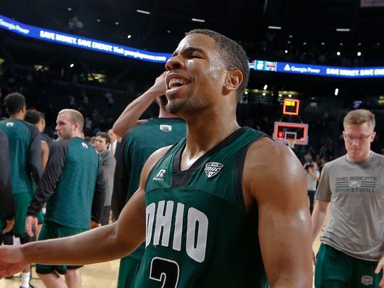 Ohio Bobcats point guard Jaaron Simmons averaged 15.9