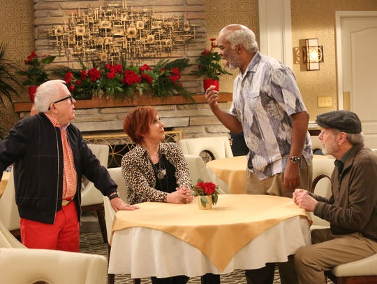 The show follows three male friends in a retirement
