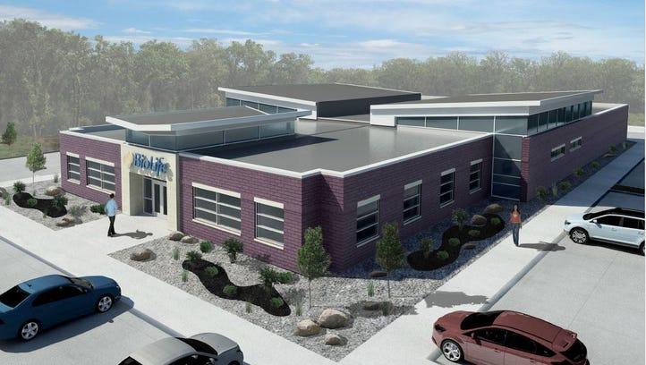 BioLife plans to build this plasma donor center in Cordova.