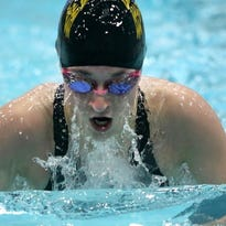 Brown Deer/University School's Katie Hayes is a two-time returning state placewinner for the FalconCats girls swim team this fall.