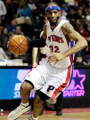 Richard Hamilton was the starting shooting guard on the Pistons' 2004 NBA championship team.