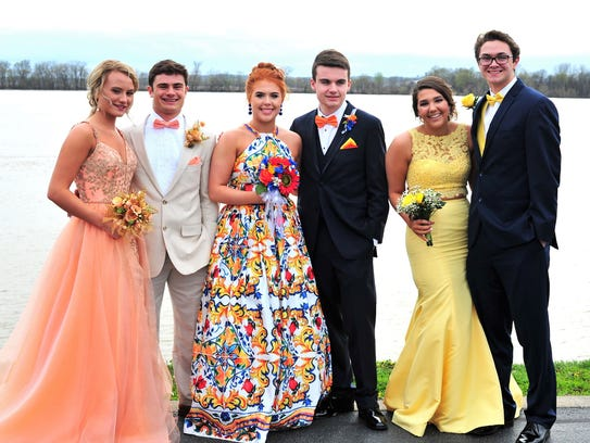 Castle Prom – We see Paige Hopkins, Reeder Pennell,