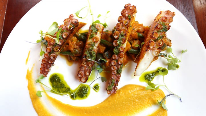 Best Rochester dishes: Octopus (if you dare)