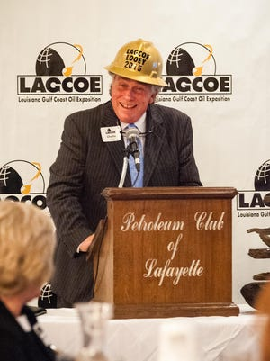 Charlie Moncla was named LAGCOE Looey 2015 on Monday at the Petroleum Club.