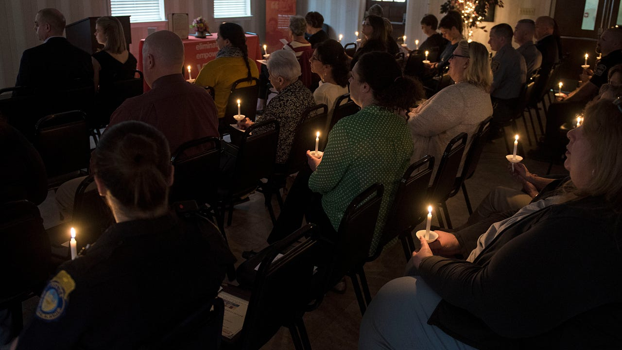 April 2-8 was Victims' Rights Week. The Hanover YWCA held its annual candlelight vigil to commemorate all victims of crime.