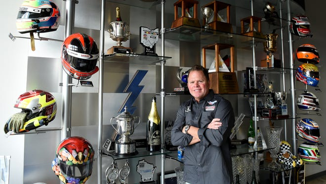 Michael Shank, owner of Meyer Shank Racing, may soon move his operations from Etna Township to the Pataskala Corporate Park.