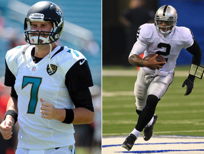 16. Jaguars at Raiders: Chad Henne vs. Terrelle Pryor probably wasn't the QB matchup either fan base expected for Week 2, but it's what the two teams will get.