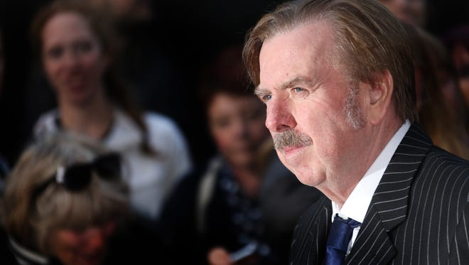 "Actor Timothy Spall arrives for the London Film Festival premiere of ""Mr Turner"" at the Odeon West End in central London."