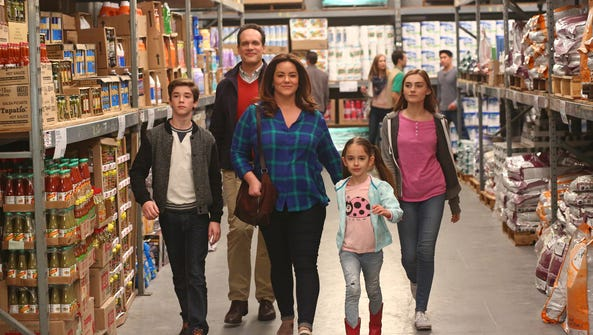 The cast of ABC's 'American Housewife.'