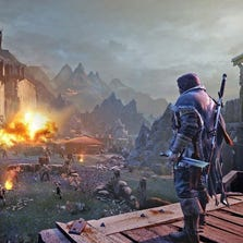 A scene from video game 'Middle-earth: Shadow of Mordor'.