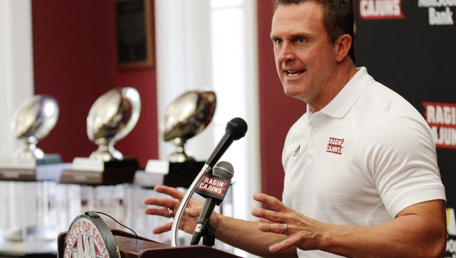 UL coach Mark Hudspeth said he's got great respect for the head coaching career of Troy coach Larry Blakeney.