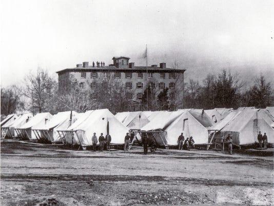 636588868132469513-0410-EVFE-history-lesson-Civil-War-Marine-Hospital-tents-1.JPG